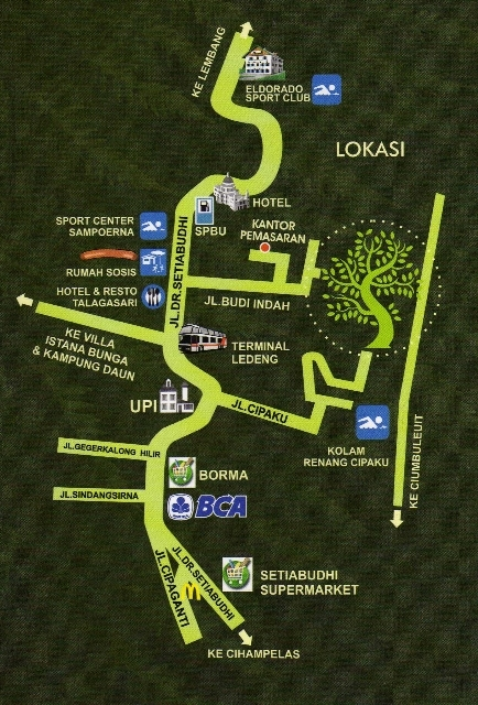 Peta Lokasi Budi Indah Regency